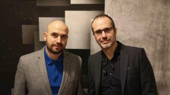 Samuel Zayas (CTO) och Patrik Zayas (VD) har grundat WAVR Tech som utvecklat Zentnl.