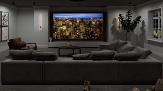 Regardez les huitièmes de finale du Championnat d'Europe sur grand écran avec les nouveaux projecteurs Home Cinema 4K natifs de Sony