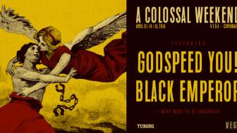 A Colossal Weekend udvider med en dag og er klar med første hovednavn: GY!BE