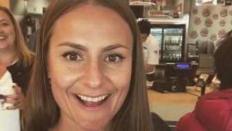 -I år vil det komme enda flere nyheter på Burger King, sier Lina  Nilsson, som enda ikke kan røpe hva dette blir. Men det er all grunn til at gjestene kan glede seg.