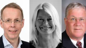 Jan Lexell, Jenny B Osuldsen och Geoffrey Vining.