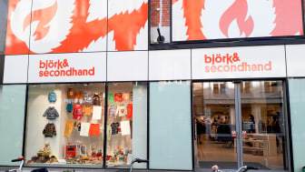 Björkåfrihets butik på Södra Förstadsgatan i Malmö