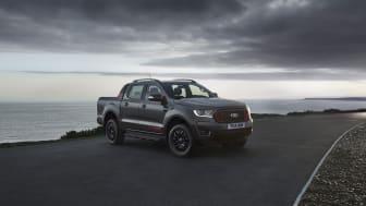 Nu presenterar Ford nya Ranger Thunder som ger en dramatisk stil och förbättrad utrustningslista till Europas mest sålda pickup.