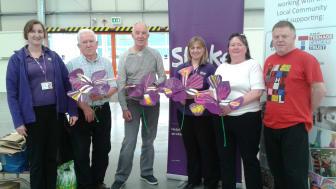 Halton stroke survivors get creative for Make May Purple