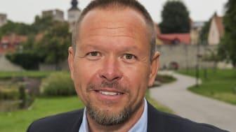 Air Gotlands regionchef Michael Enlund