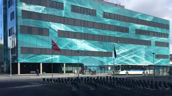 UNN PET senteret i Tromsø, tegnet av LINK arkitektur