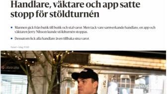 CoYards hjälpte till att sätta stopp för stöldturné i Ystad
