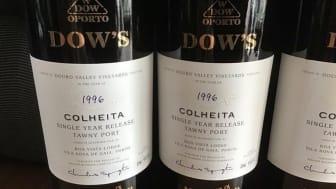 Nyhet - Exklusiv lansering av Dow's Colheita 1996