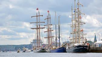 Ein Törn auf einem Traditionssegler zur Kieler Woche ist ein MUSS