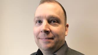 Fredric Hjalmarsson ny affärsområdeschef Fog & Lim