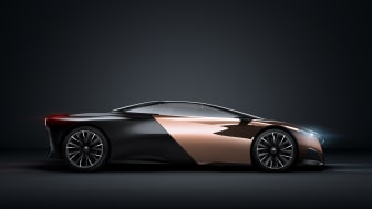 Peugeot på bilsalongen i Paris: Onyx – djärva materialval, hybridteknik och superbilsprestanda