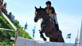 Sandra Gustafsson – Top Select, segrare Sydsvenskan Falsterbo Hunting 110706