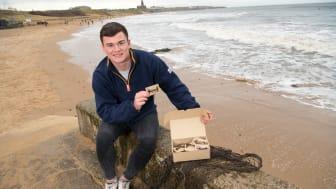 Nathan Smith with his marine awareness business