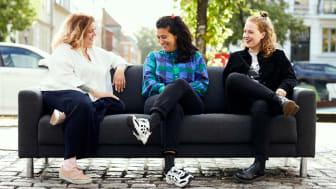 Ane Høgsberg, Sofie Flykt og Molly Thornhill kan opleves i 'De sjove kvinder' på C More fra den 29. oktober.