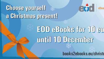 Ge bort en e-bok ur KB:s samlingar i julklapp – nu till specialpris!