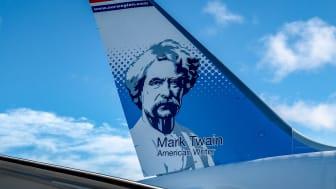 Mark Twain Norwegian's New Tailfin Hero