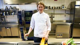 Tingvalla-eleven David Bergin är en av sex finalister i Swedish Young Chef Award.