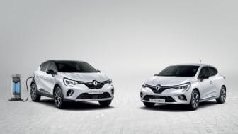 To af Europas mest populære biler - nu med hybridteknologi direkte fra Formel 1