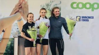 Från vänster: Anja Tjärdal, Linnéa Sennström och Hanna Öberg