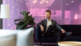 Joni-Joonas Honkanen on Bookers Groupin liiketoimintajohtaja ja osakas. Kuva: Robert Lindström/Presser Oy