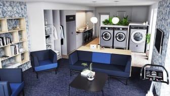 HSB brf Mariedahl, tvättstudio