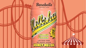 Honey Melon Milkshake - ny milkshake från Barebells