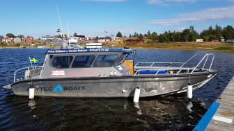 Ny entreprenör blir Guide Natura med båten M/B Renön som tar 12 passagerare. Foto: Hansi Gelter