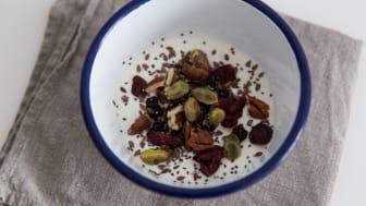 Alpro alternativ til yoghurt kokos nøtter