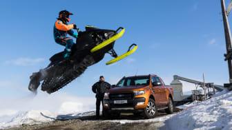 Verdens tøffeste pickup, Ford Ranger, erobrer Arktis!