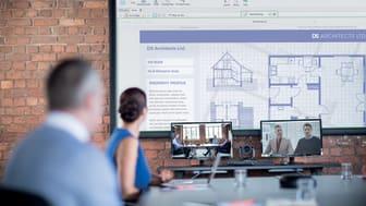Kommunikasjon og samarbeid med kollegaer og kunder via Brother OmniJoin videokonferanse system.
