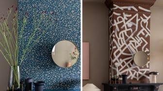 Wees een kunstenaar met verf in je interieur! Hier laat Theo-Bert zien hoe gemakkelijk je kleuren kunt combineren met de Flexa Kleur van het Jaar 2021 Brave Ground.