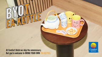 ComfortBYO - Tea-kettle