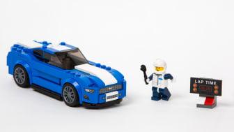 Nye Ford Mustang nå klart som LEGO-byggesett