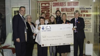 Bury remembers the First World War with Heritage Lottery Fund support