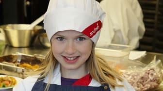 Alicia Engelhardt är Täbys elevkock 2017