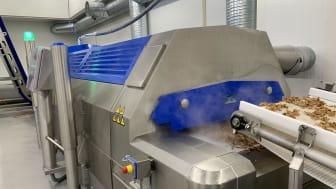 CRYOWAVE™ fryser fra AGA/Linde hos NK Meat. (Foto: AGA)