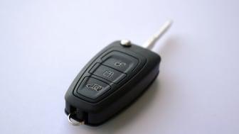 Fords nya transportbilsnyckel.