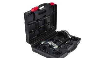 Hydraulisk pressverktygssats från Kamasa Tools ger upp till 12 ton tryck