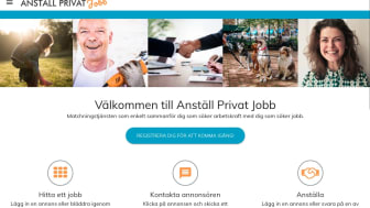 Matchningstjänst för jobb hos privatpersoner