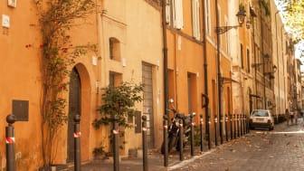 Eine Straße in Rom