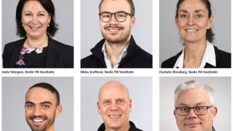 Nordic PM utökar arbetsstyrkan med sex nya medarbetare
