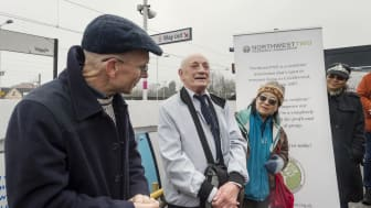 Cricklewood mural unveiling