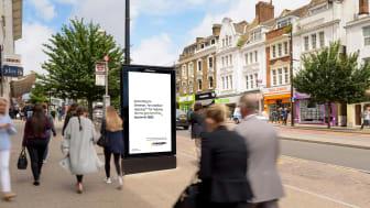 example of an ad in situ - ed sheeran