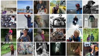 """I månadstävlingen med temat """"Porträtt i miljö"""" deltog 31 insända bilder - bland annat dessa. Bilder från Lindesbergs Fotoklubbs hemsida."""