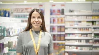 Charlotte Kalla ett segerrecept för Kronans Apotek