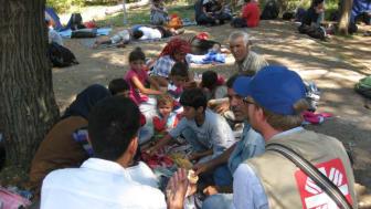 Caritas vädjar om hjälp till flyktingarna i Serbien
