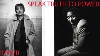 Speak Truth To Power - mod utan gränser, en fotoutställning med porträtt av människor som vågat ta ställning
