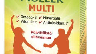 Möller Multi on markkinoiden monipuolisin monivitamiini-kalaöljyvalmiste