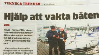 CoBoats hjälper till att vakta båten