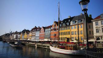 Bokningarna till Köpenhamn har ökat med 33 procent i vår.